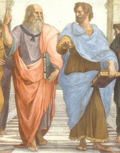 Plato and Aristotle in the School fo Athens