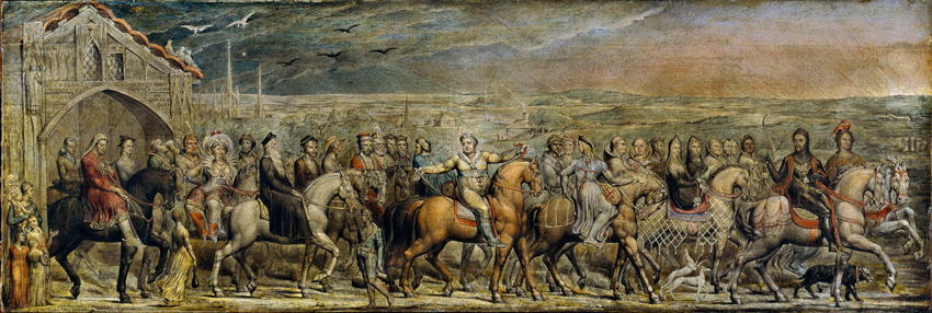 The Canterbury Pilgrims by William Blake (1757 - 1827)
