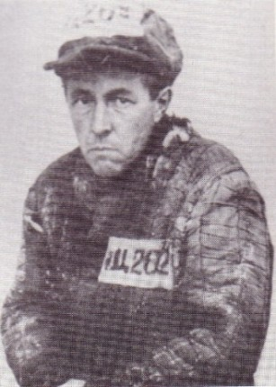 Solzhenitsyn as a Gulag labor camp prisoner