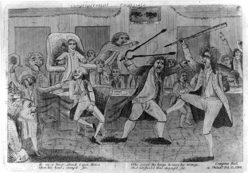 Congretional Pugilists (1798)